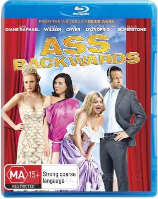 Ass Backwards (2013) English BRRip 720p HD