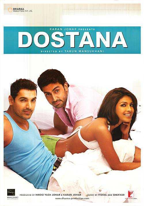 Dostana (2008) Hindi Movie BRRip Download Watch Online