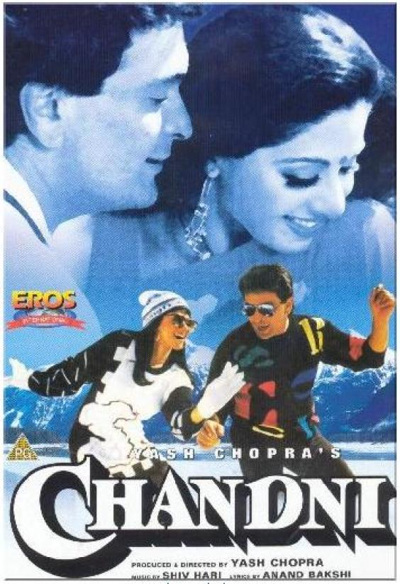 Chandni 1989 full Hindi Movie Watch Online for free in HD