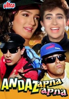 Andaz Apna Apna (1994) hindi movie watch online free In HD 1080p