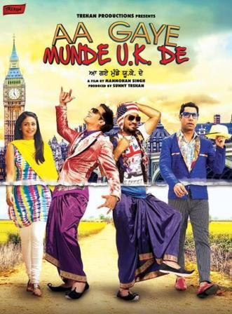 Aa Gaye Munde U.K. (2014) Punjabi Movie Free Download 300MB