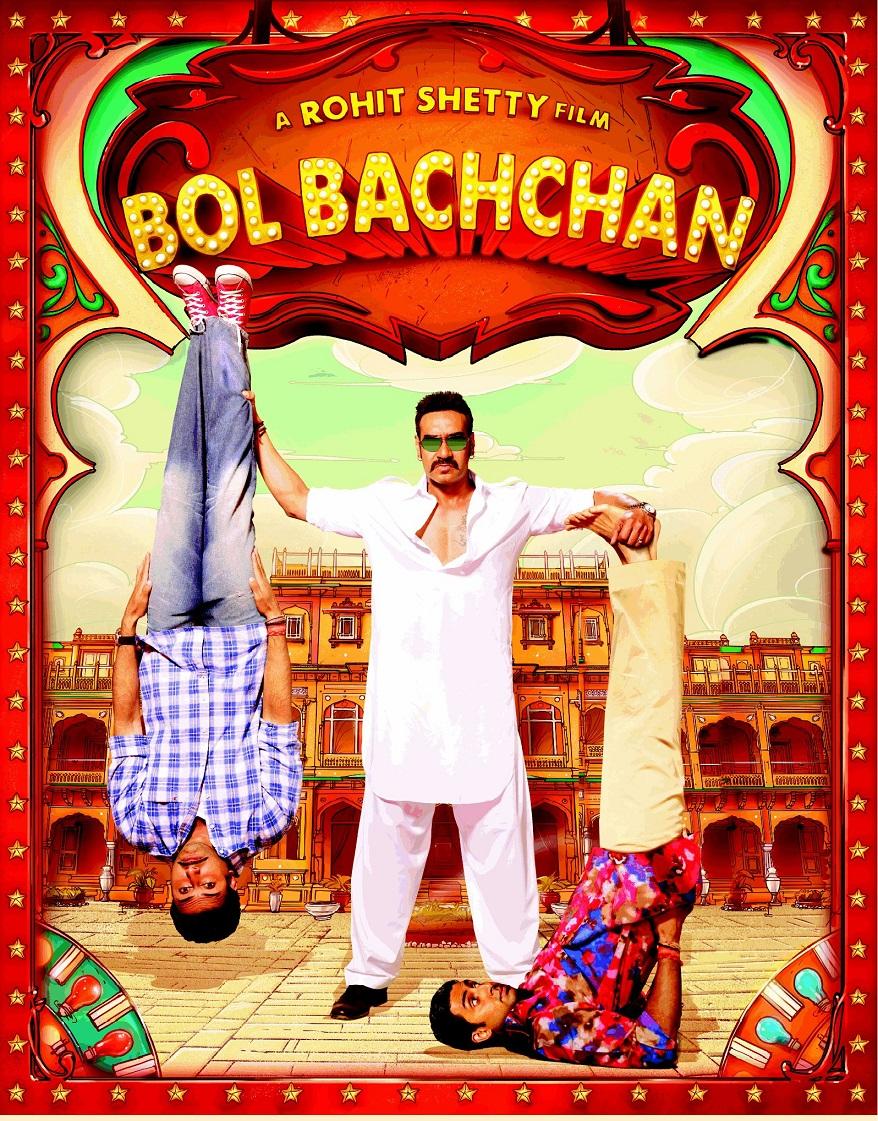 Bol Bachchan (2012) Hindi Movie Free Download 400MB 720p