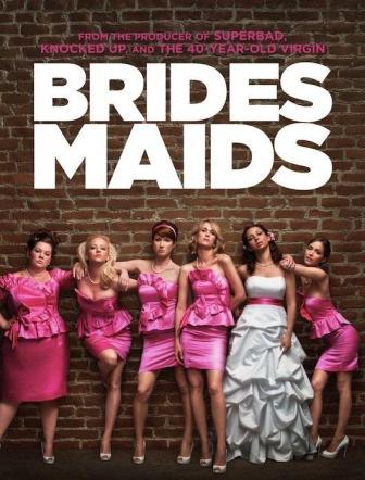 Bridesmaids (2011) English Movie In Hindi Dubbed Free Download HD 720p 200MB