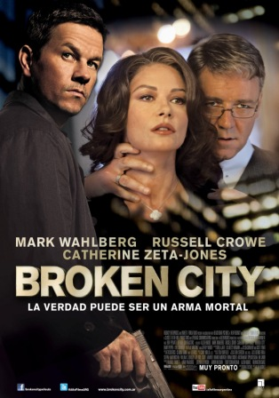 Broken City (2013) English Movie Download 720p 350MB