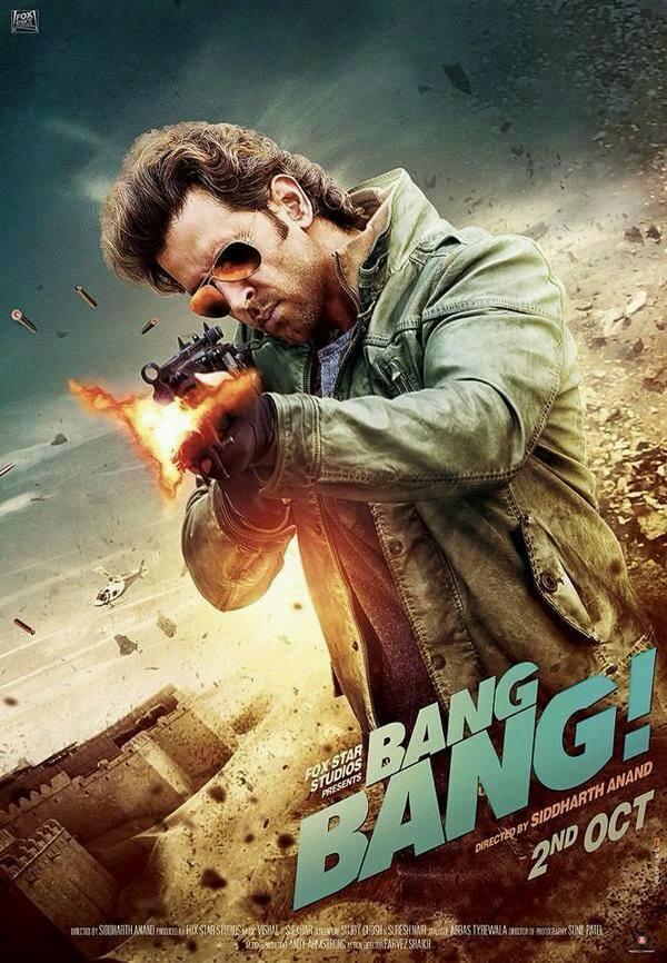 Bang Bang (2014) Hindi Movie 480p Free Download In 400MB